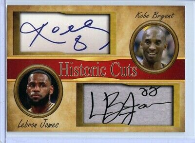 Kobe Bryant & Lebron James - Just Released - 2020 Limited Edition - Short Print