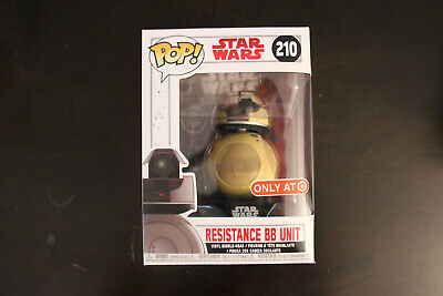 Funko Pop Resistance BB Unit Star Wars 210 Target Exclusive