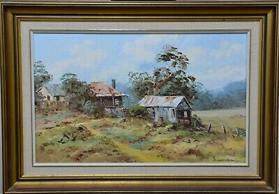 "Oil Painting - ""McDonald's Homestead"" by John Hingerty"