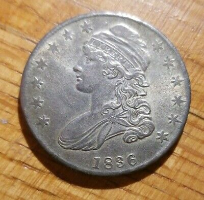 1836 Capped Bust Half Dollar BU MS Uncirculated Original NR See Other Auctions!!