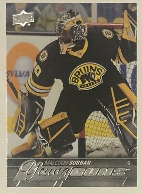 Malcolm Subban 2015-16 Upper Deck Young Guns Rookie YG RC