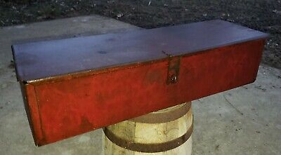 Vintage International Harvester,  Ih, Farmall Tractor Tool Box