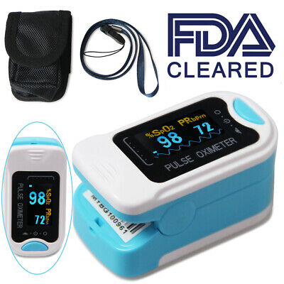 Oximeter Pulse finger Digital SPO2 HR Oxygen Monitor OLED Display CONTEC CMS50NA
