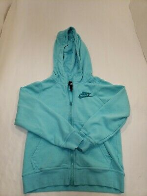 NIKE  Front zip Hoodie Jacket Youth Child Small Long Sleeve Pockets