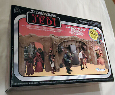 Hasbro Star Wars Return of the Jedi 3.75 in  Jabba's Palace Play Set