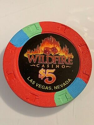 WILDFIRE CASINO $5 Casino Chip Las Vegas Nevada 3.99 Shipping