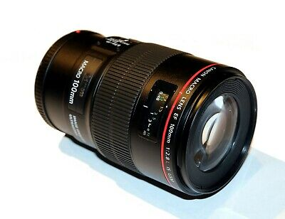 Canon EF 100mm f/2.8L Macro IS USM Lens NEW MINT CONDITION!