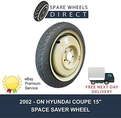 "2002 -On Hyundai Coupe 15"" Spare Space Saver Wheel (Mz2)"