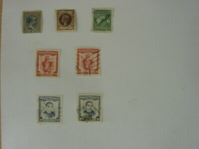 A small selection of 7 old mint & used stamps from the Philippines