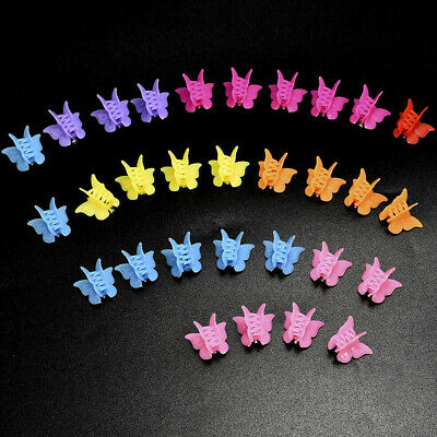 Mixed Color Hair Claws Mini Hairpins For Kids Baby Butterfly Hair Clips