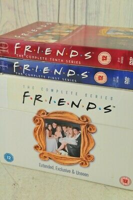 Friends The Complete Series 1-10 And Exclusive Extras + Bonus Features Box Set