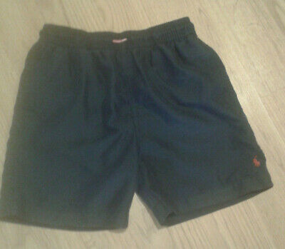 Polo Ralph Lauren Boys swimm shorts. Size 7. Dark blue colour.