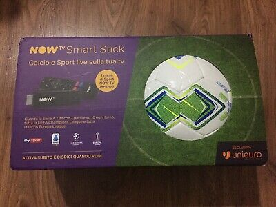 Now Tv Smart Stick Nuova + Pallone