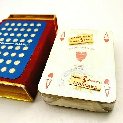 """Single Vintage Playing Card Disney/'s /""""Grand Floridian Hotel/"""" Advert"""