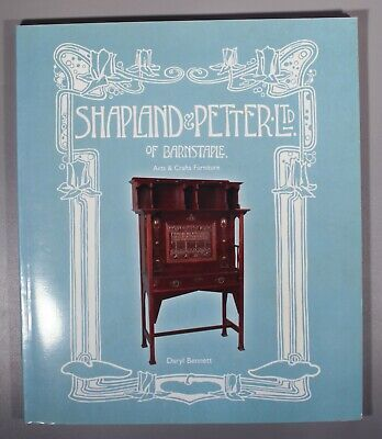 Daryl BennettShapland and Petter: Arts and Crafts Furniture