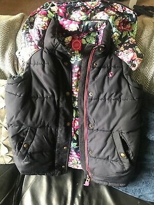 Girls Joules Gilet Age 9/10 Years