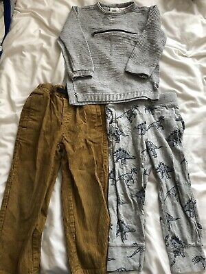 Boys Trousers And Jumper Bundle 3 Years - Zara, Baby Gap And Mini Boden