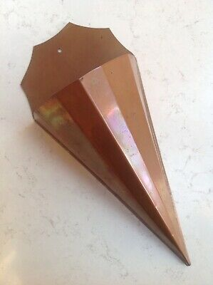 Arts & Crafts Copper Spill Or Posy Holder