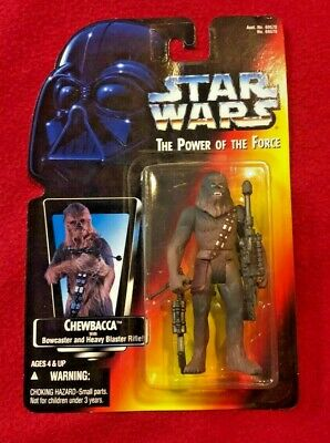 Star Wars Chewbacca Power Of The Force Action Figure 1995 Sealed Mint Kenner