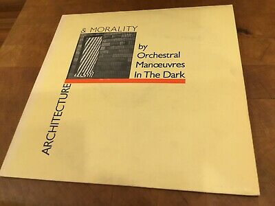 Orchestral Manoeuvres In The Dark 'Architecture & Morality' 1981 Lp (Omd) Did12