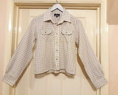 Boys Sherwood Forest Checked Shirt Aged 12-13 Years