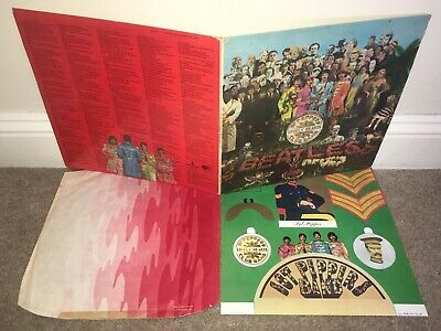 THE BEATLES Sgt Peppers Lonely Hearts Club Band LP UK 1st!