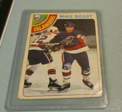 1978 1979 OPC 136 Hockey Card Lot Mike Bossy RC #115 Dave Taylor RC #353 Stars