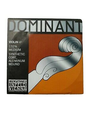 Thomastik Dominant 3/4 Size Violin Strings 3/4 D String Handmade in Austria