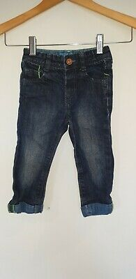 Boys Marks and Spencer Jeans Age 18-24 Months Blue