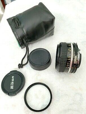 Nikon Nikkor 50Mm F1.8 Manual Lens Bundle