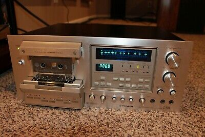 Pioneer Cassette Deck Model CT-F1250 Professionally Serviced Excellent Condition