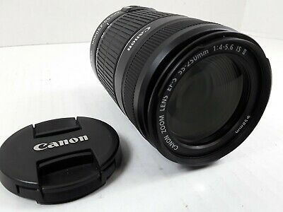 !! EXCELLENT !! - Canon EF-S 55-250mm F/4-5.6 II IS Lens