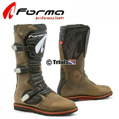 Forma Boulder DRY (Waterproof) Trials Riding Boot - Trail/Greenlane/Offroad