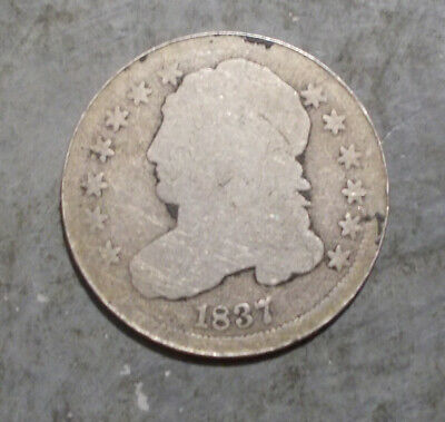1837  Silver Capped Bust Dime