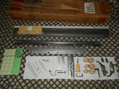 Brother KR 850 Ribber Attachment For Knitting Machine  With Instructions - Boxed