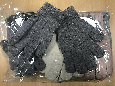Wholesale Job Lot Of Assorted Colours 12 Pairs Ladies Womens Gloves One Size