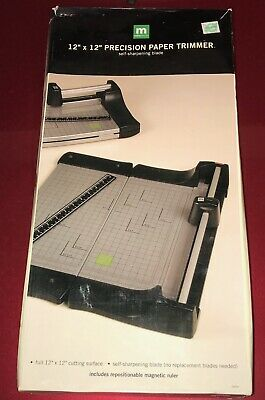 Making Memories Precision Paper Trimmer *Very Nice Condition With Box*