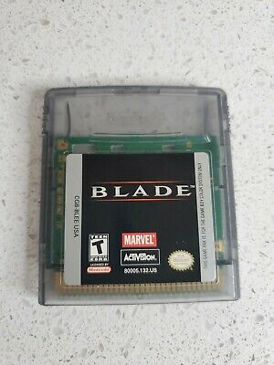 Blade (Nintendo Game Boy Color, 2000) authentic tested cart only