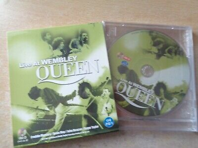 Queen ‎– Live At Wembley South Korea VCD New Sealed