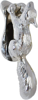 House of Brass Ltd Polished Chrome Squirrel Door Knocker