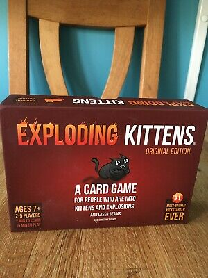 Exploding Kittens Card Game A Game About Kittens and Explosions Sometimes Goats