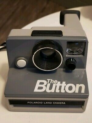 POLAROID Land Camera The BUTTON, NICE