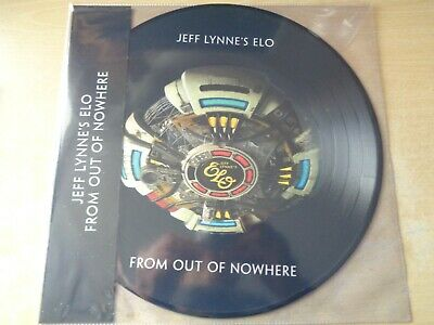Jeff Lynne's ELO – From Out Of Nowhere LP Picture Disc UNPLAYED