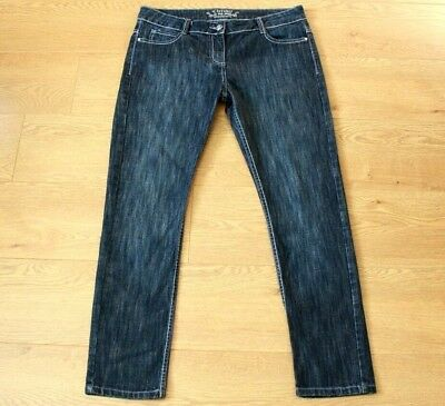 CHEROKEE We Love Denim Ladies Slim Fit Blue Jeans Size UK 14 Short Length