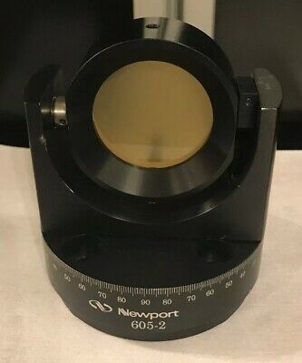 "Newport 605-2 2"" Gimble Mount W/ Unused 2"" Zerodur Flat"