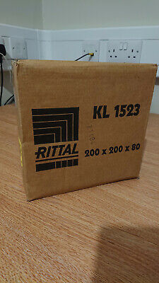 Rittal KL 1523 Stainless Steel Terminal Box IP66 200 x 200 x 80