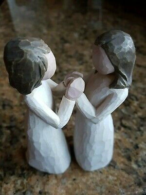 Willow Tree Demdaco SISTERS BY HEART Figurine By Susan Lordi 2000 Damaged