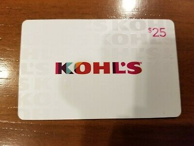 $25 Kohl's Gift Card - FREE Shipping