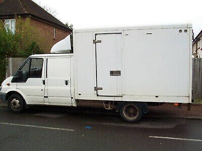 Ford Transit Mk6 2.4 Crew Cab Box 2002 Low Miles For Year. No Vat