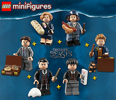 LEGO Minifigures #71022 - Fantastic Beasts Complete Series - 100% NEW / NEUF